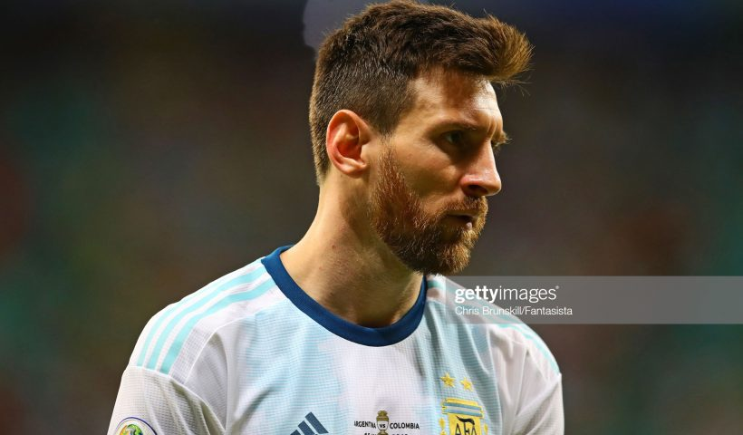 Lionel Messi of Argentina, Copa America 2019