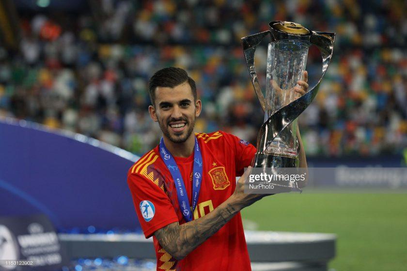 Daniel Ceballos Fernandez of Spain U21
