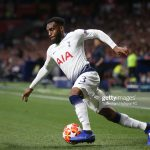 Danny Rose at The Exit Doors of Tottenham