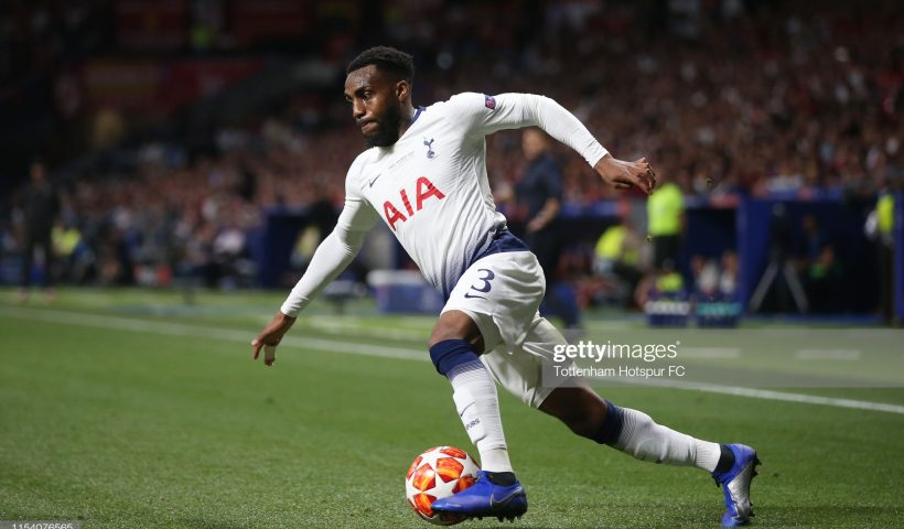 Danny Rose of Tottenham Hotspur