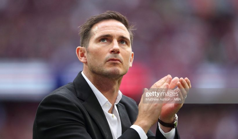 Derby County manager \ head coach Frank Lampard