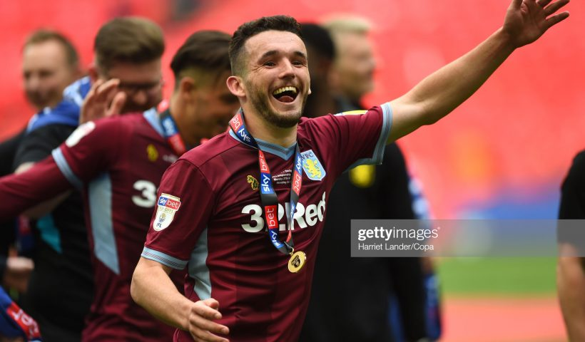 John McGinn of Aston Villa