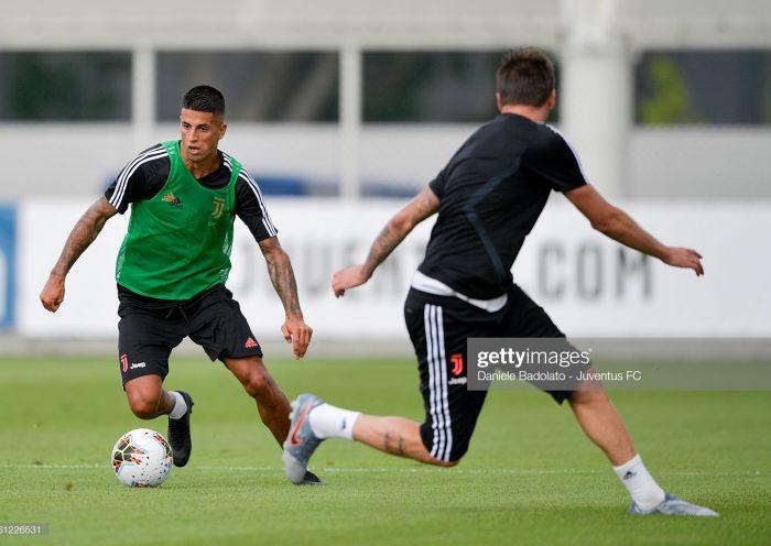 Juventus player Joao Cancelo