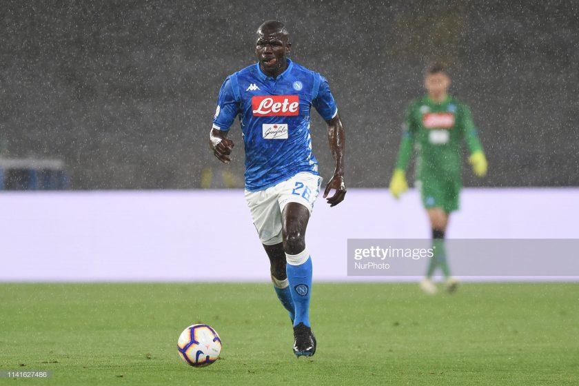 Kalidou Koulibaly of SSC Napoli