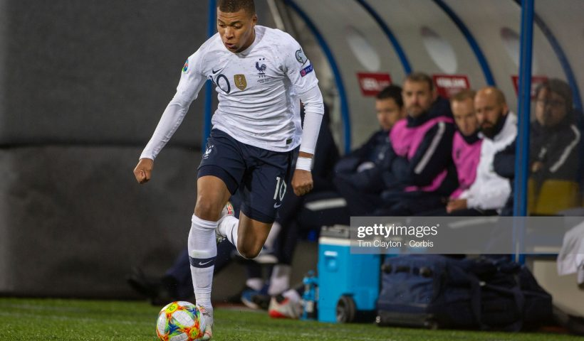 Kylian Mbappe #10 of France