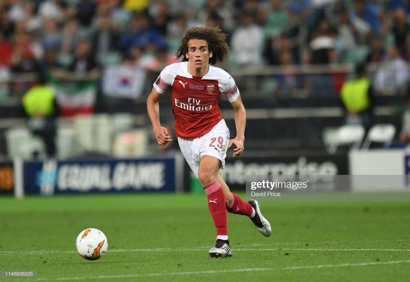 Matteo Guendouzi of Arsenal