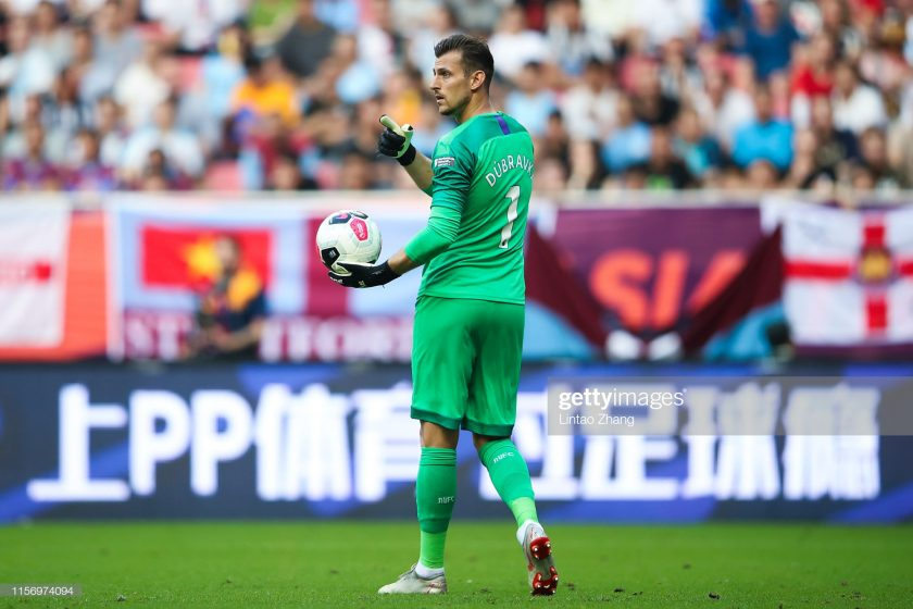 Newcastle United Goalkeeper Martin Dubravka