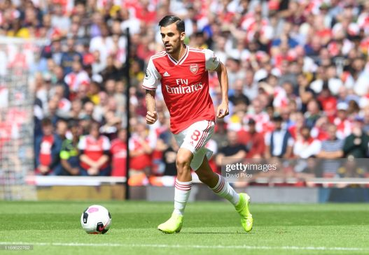 Dani Ceballos of Arsenal