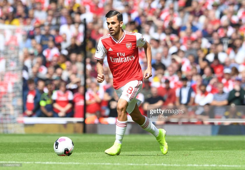 Dani Ceballos of Arsenal