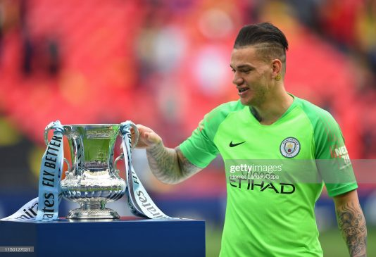 Ederson of Manchester City