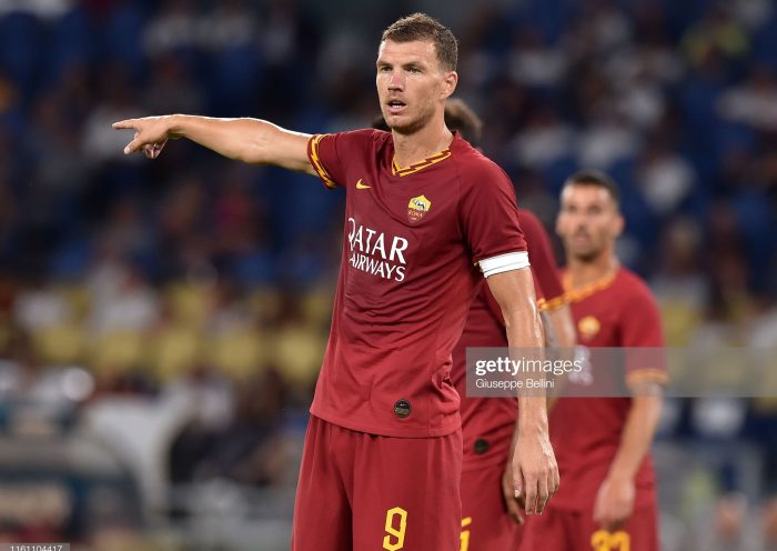 Edin Dzeko of AS Roma