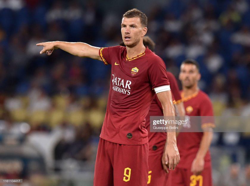 Edin Dzeko of AS Roma