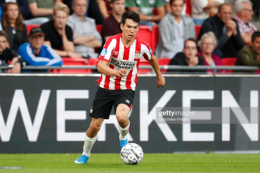 Hirving Lozano of PSV