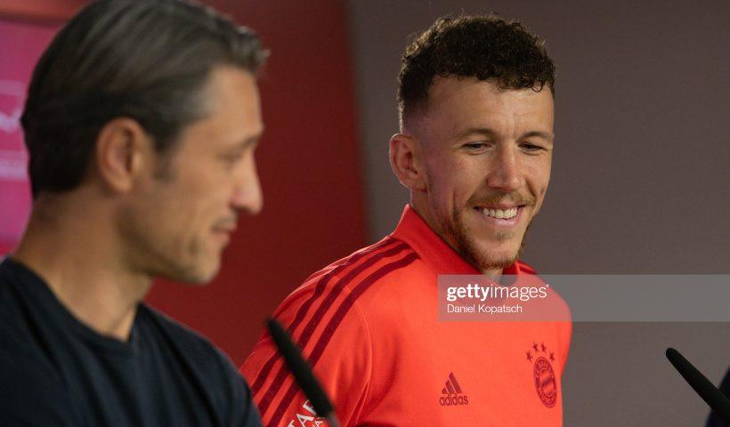 Ivan Perisic of FC Bayern Muenchen