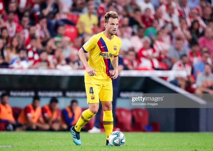 Ivan Rakitic of FC Barcelona