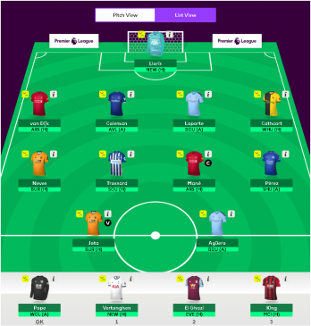 Our fantasy EPL for gameweek 3