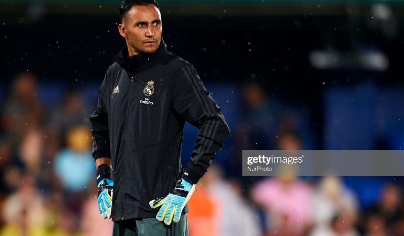 Keylor Navas of Real Madrid