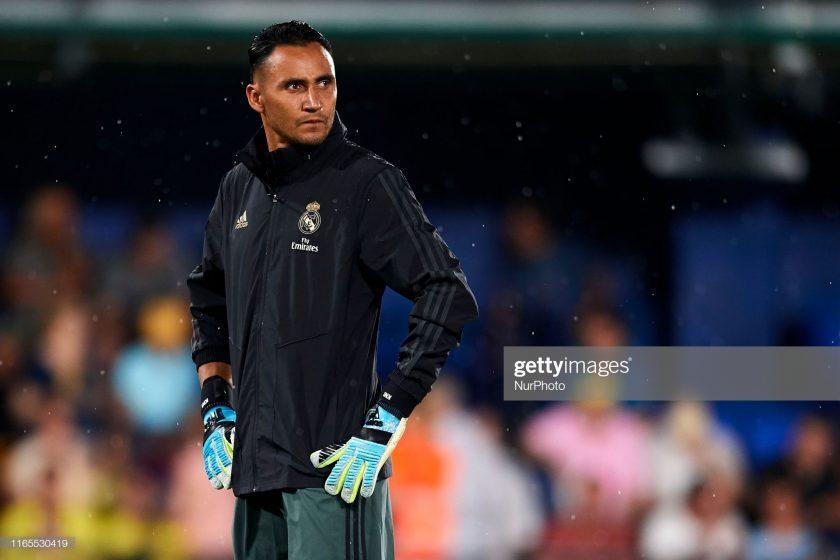 Keylor Navas of Real Madrid