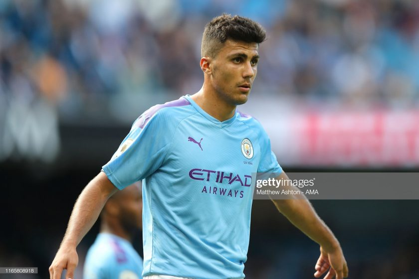 Rodri of Manchester City