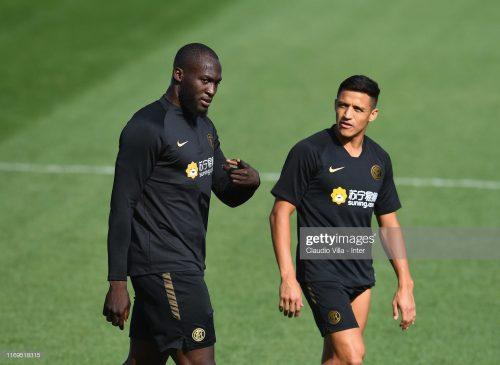 Romelu Lukaku and Alexis Sanchez, FC Inter
