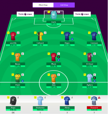 fantasy epl tips - gameweek 5