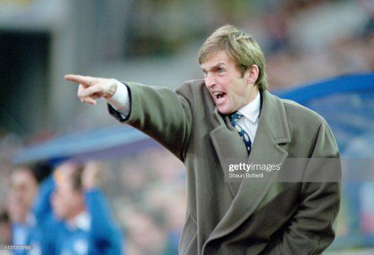 Blackburn Rovers manager Kenny Dalglish
