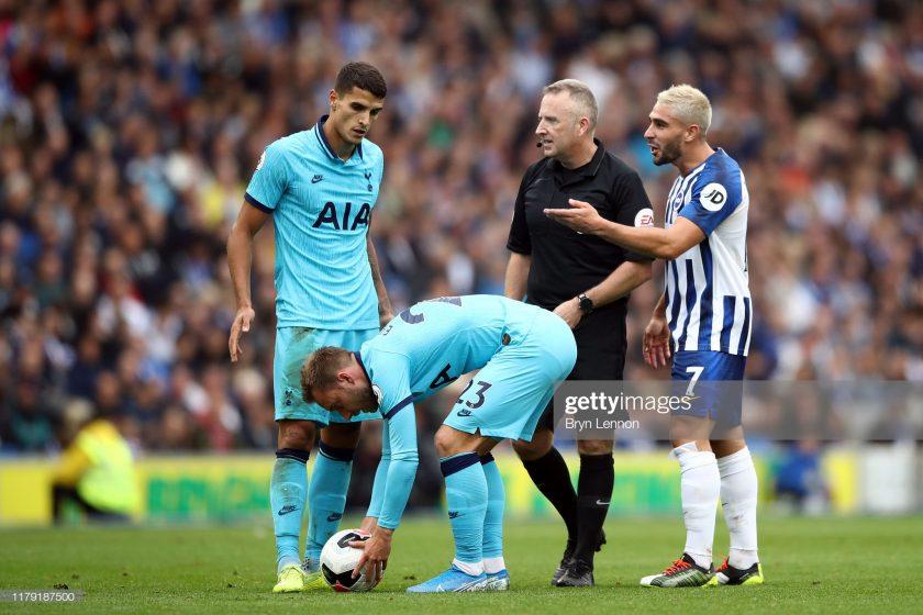 Brighton & Hove Albion and Tottenham Hotspur