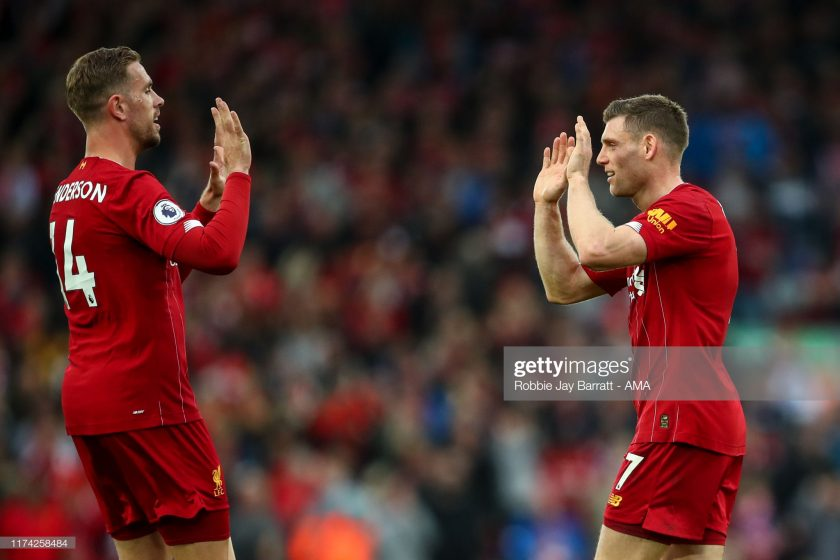 Jordan Henderson and James Milner