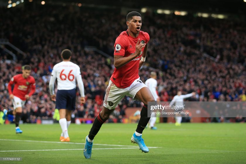 Marcus Rashford of Man Utd