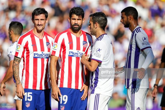 Stefan Savic and Diego Costa - Atletico Madrid