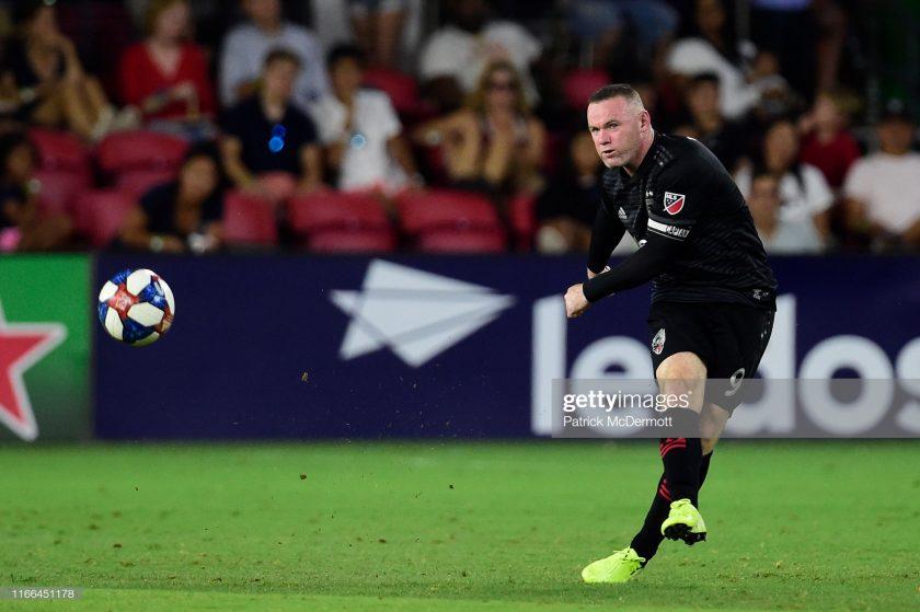 Wayne Rooney #9 of D.C. United