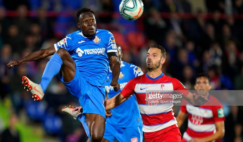 Dakonam Djene of Getafe CF