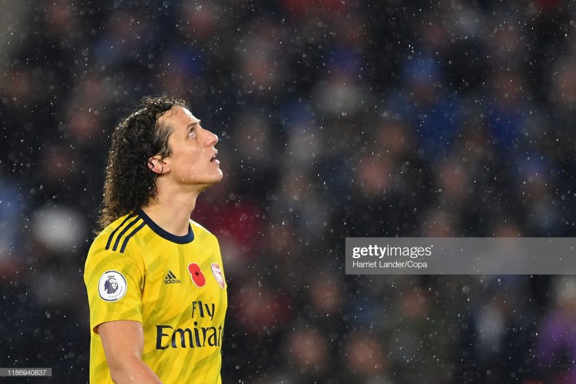 David Luiz of Arsenal