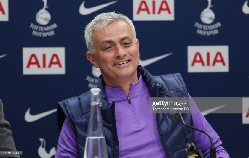 Jose Mourinho, Head Coach of Tottenham Hotspur