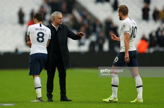 Jose Mourinho manager of Tottenham Hotspur