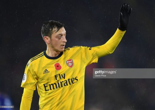 Mesut Ozil of Arsenal