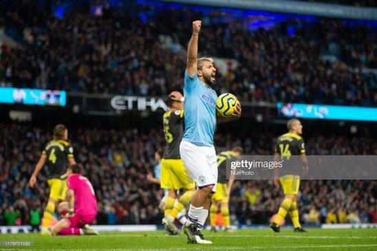 Sergio Agüero of Manchester City