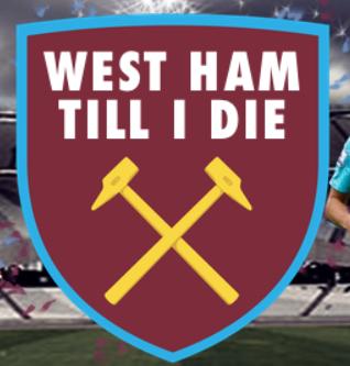 west ham till I die logo