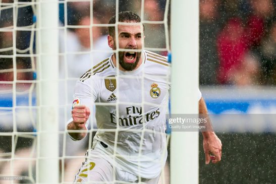 Daniel Carvajal of Real Madrid CF