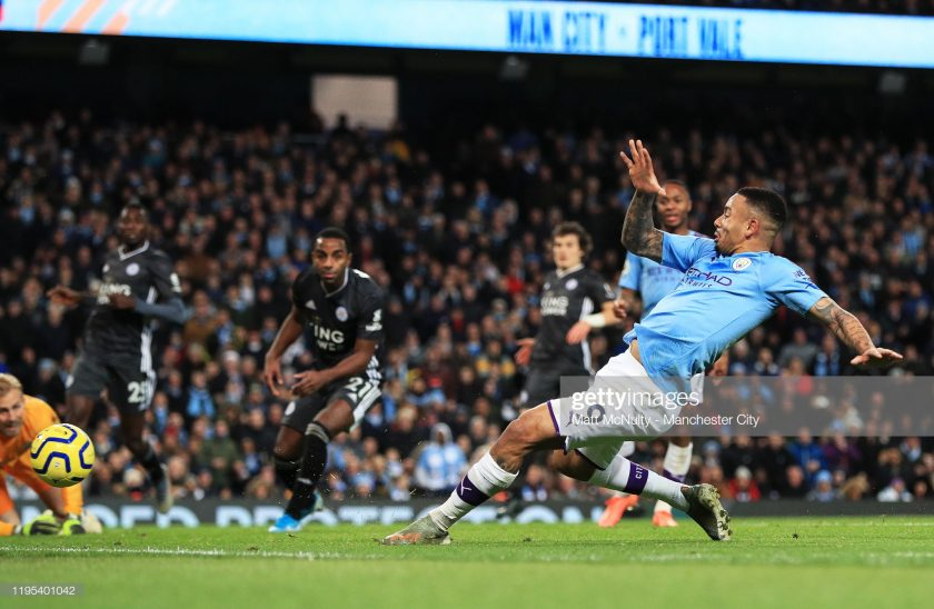 Gabriel Jesus of Manchester City goal