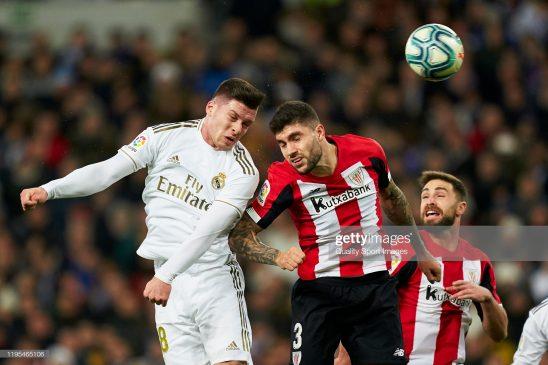 Luka Jovic of Real Madrid