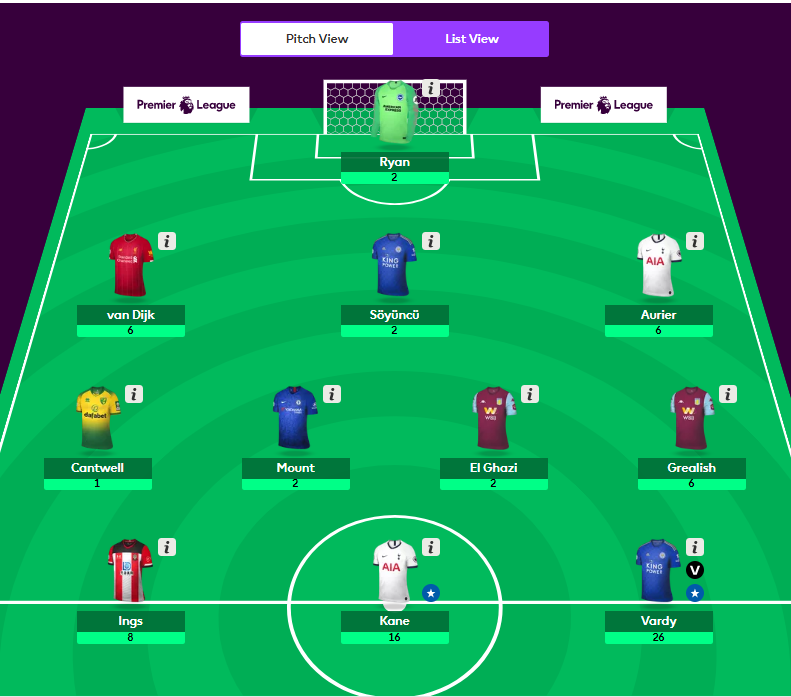 fantasy football talk gw 16