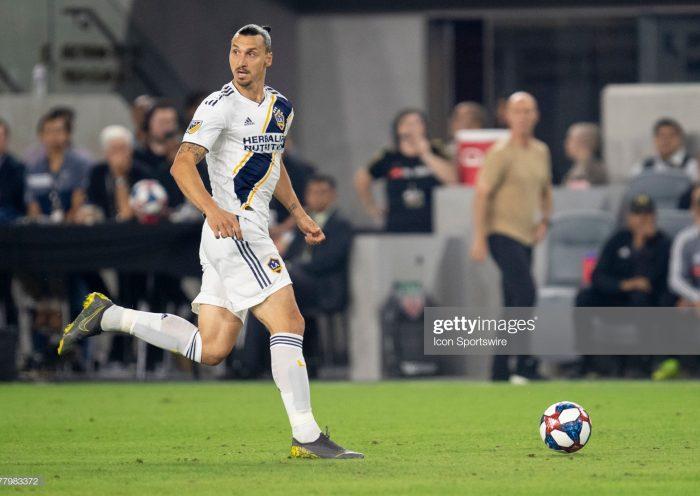ex Los Angeles Galaxy forward Zlatan Ibrahimovic