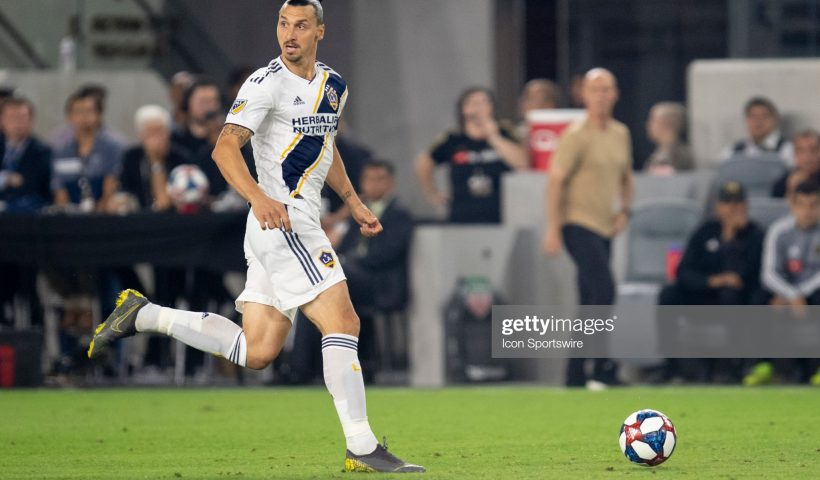 ex Los Angeles Galaxy forward Zlatan Ibrahimovic