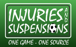 injuries and suspensions logo
