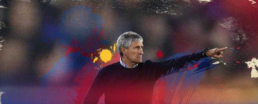 Quique Setién, fc barcelona manager