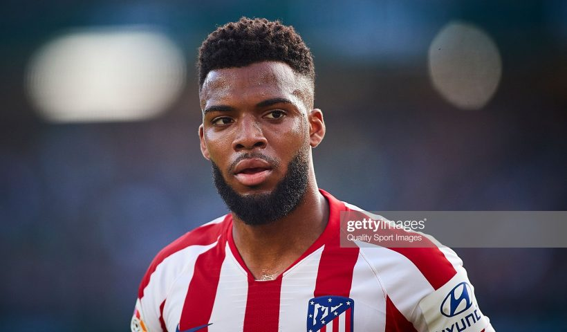 Thomas Lemar of Atletico de Madrid