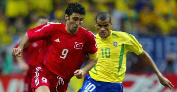 hakan sukur and rivaldo, world cup
