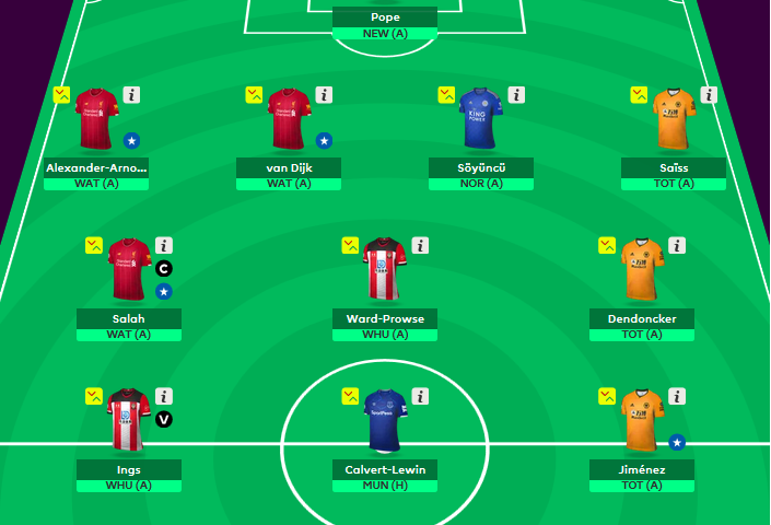 EPL fantasy tips gameweek 28