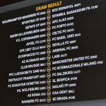 UEFA Europa League 2020 - 1/16 Finals - Fixtures and Schedule
